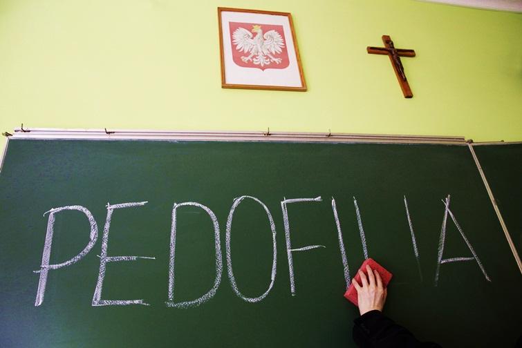 Wymazany problem pedofilii - fot. Sławomir Skrobała.