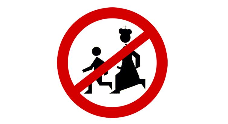 stop pedofilii - znak